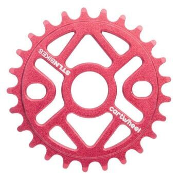 Звезда CARTWHEEL SPROCKET RED 25T,5mm CNC 6061