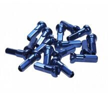 Ниппель  alloy, 14 mm, blue (14G), 350 pcs in a can