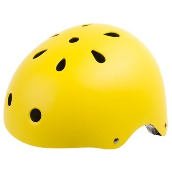 "Шлем freestyle skating  BMX - Outdoor helmet, size: M (54-58 cm), ""Smilie""  matt"