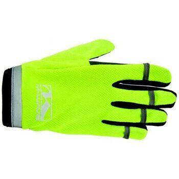 "Перчатки  M-WAVE ""TOUCHSCREEN"", full finger gloves, neon yellow"
