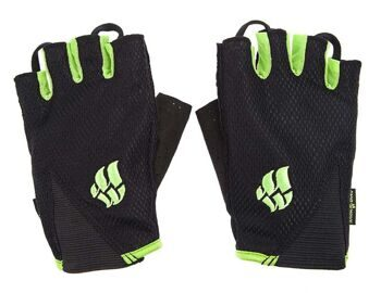 Перчатки для фитнеса Men's Training Gloves Black/Green