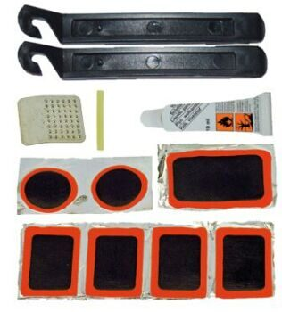 Рем. Комплект rubber repair kit, with 2 plastic tirelevers