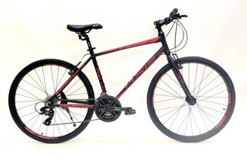 "AXIS 700 V ,City Bike 19"" Black /Red"