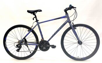 "AXIS 700 V ,City Bike 19"" grey/blue"