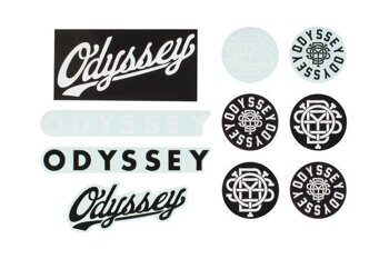 Наклейки ODYSSEY ASSORTED PACK - VINYL-CLEAR BACK