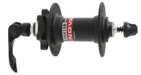 Передняя втулка discbrake-hub, front, alloy, black with, 32 holes