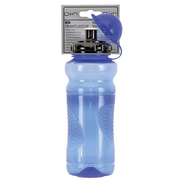 Фляга waterbottle MIGHTY, plastic, 700 ccm, blue transparent