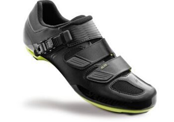 Велотуфли ELITE ROAD SHOE BLK/HYP GRN REFL