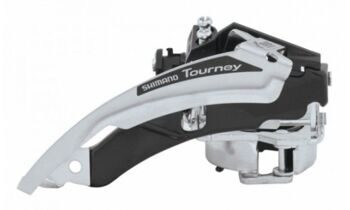 Перекл. перед  FD-TY700-TS3, TOURNEY,TOP-SWING, DUAL-PULL,FOR REAR 7/8-SPEED,BAND TYPE (W/31.8MM ADAPTER)
