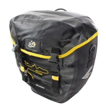 Сумка  TOUR DE FRANCE, with cover, black, with MTS fastening system, 2x20 liter