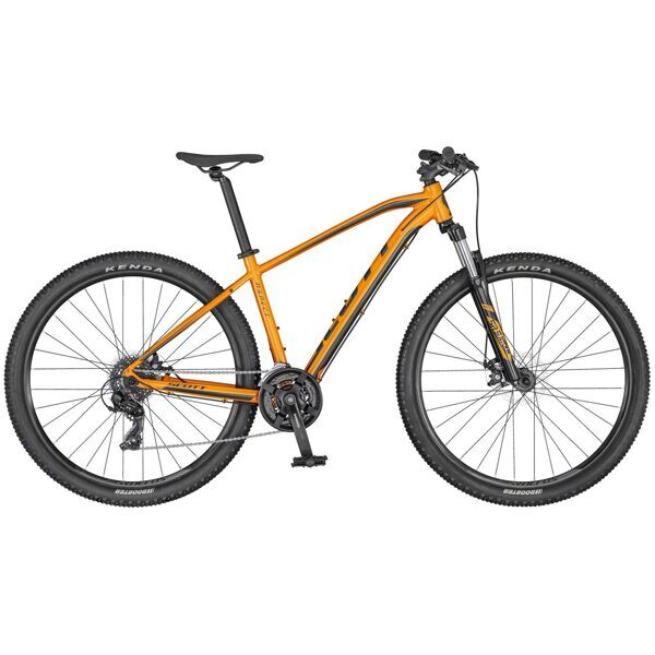 Велосипед Aspect 970, 2020, orange/dk.grey , 29 дюймов, L