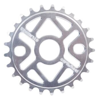 Звезда CARTWHEEL SPROCKET POLISHED 25T, 5mm CNC 6061