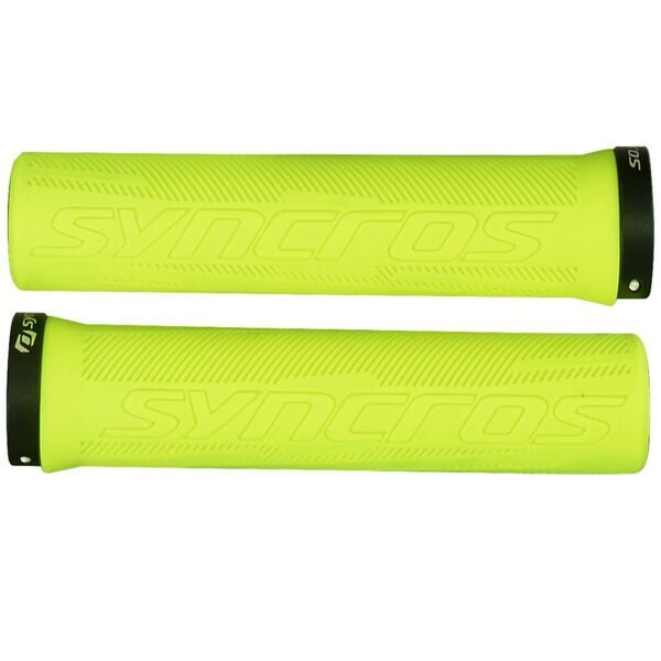 Ручки руля Grips Pro, Lock-On neon yellow one size