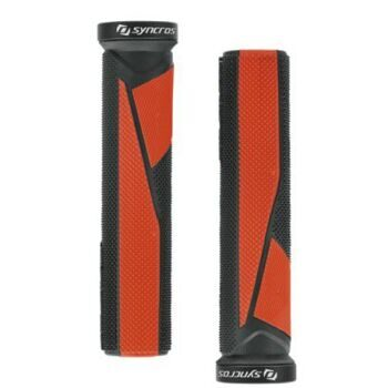 Ручки руля Grips Syncros Pro, Lock-On red
