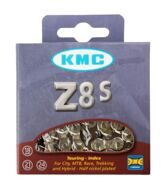 Цепь chain KMC Z-51, 1/2x3/32, 116 links, missing link, 18-24 sp, silver/brown