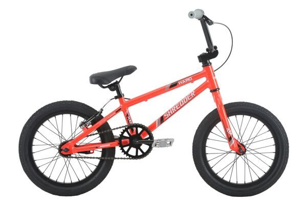HARO Shredder-16 (Alloy) Gloss Neon Red