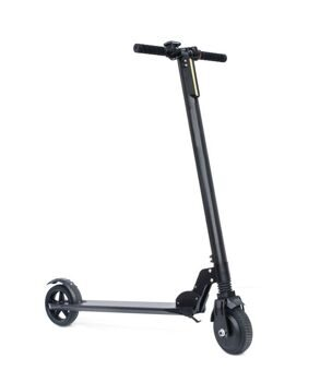 "Electric kick scooter T8 6.5"" with round display Black"