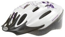 "Шлем helmet for youth, size: M, 54-58 cm, white/lilac ""Flower"""