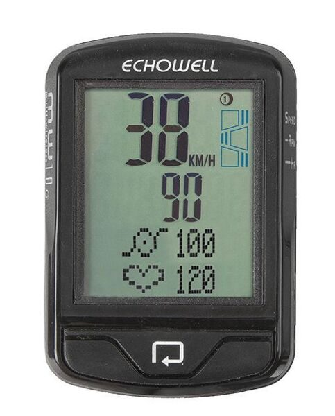 Велокомпьютер bicycle computer MW 10 G,wireless, heart rate and cadence