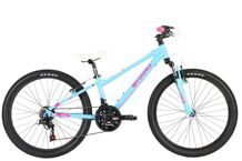 "HARO Flightline 24"" SG SkyBlue/Neon Pink"