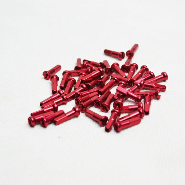 Ниппель alloy, 14 mm, red (14G), 350 pcs in a can