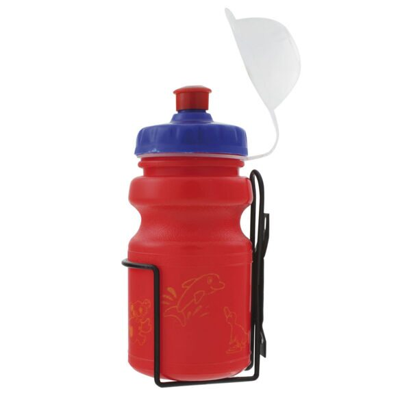 Фляга waterbottle for children, 350 ccm, assorted coulors (red/blue/yellow)