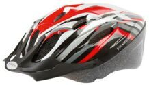 Шлем helmet for youth red/black/white/silver