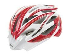 Шлем helmet for adults, MIGHTY ROAD, red/white/carbon